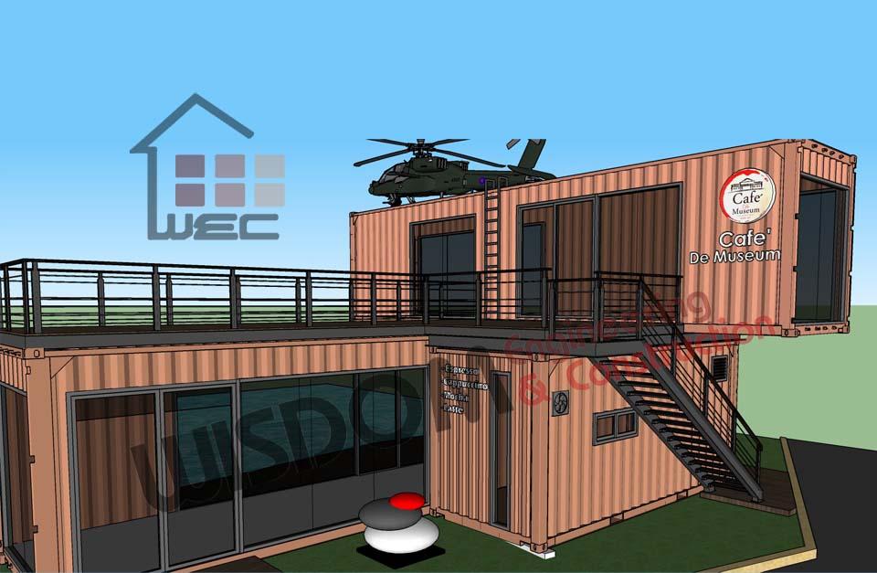 ออกแบบ Cafe DE Museum @Hangar Ball